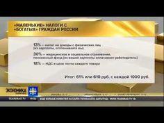Маленькие налоги с богатых граждан России