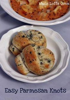 stinky cheese garlic knots