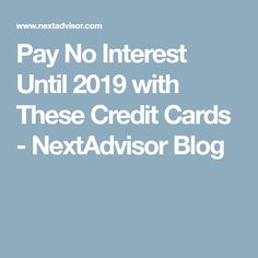 Credit cards for excellent credit rating