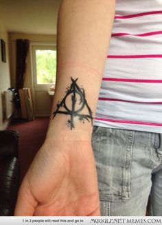 Another amazing Harry Potter tattoo