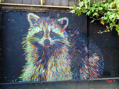 graffitti art in seattle via Flickr...My youngest daughter would LOVE this!