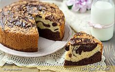 Torta marmorizzata ricetta