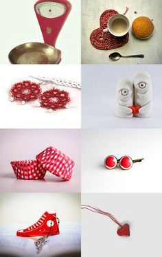 red monday by alessandra zoppelli on Etsy--Pinned with TreasuryPin.com
