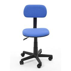 Office Chair , VECELO Mid Back Ergonomically Comfortable Computer Desk and Task Chair with Fabric Pads, Blue KHD http://www.amazon.com/dp/B00QWEMKUG/ref=cm_sw_r_pi_dp_MHCTvb0ERM3ZZ