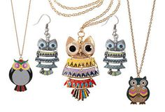 haven't you had an owl necklace yet?