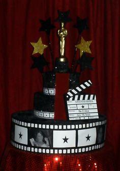 Fiesta tem tica y mesa de dulces hollywood para tus quince for Decoracion fiesta jardin
