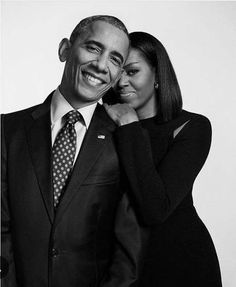 44th U.S. President, Barack Obama and First Lady Michelle Obama #POTUS44