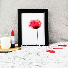 It is time for field flowers. I painted for the first time ever. I love those flowers. They are so delicate, soft and unique! Watercolour, Watercolor Paintings, Brush Lettering, Brush Pen, Red Poppies, Modern Calligraphy, Poppy, First Time, Stencils