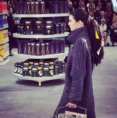 Chanel Made A Supermarket--And Kendall Jenner Walked Around In It