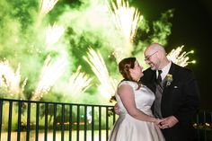 Shelley & Tim's wedding dessert party at Terrace des Fleurs in Epcot for IllumiNations fireworks!