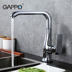 GAPPO Water Mixer Tap Kitchen Sink Faucet Kitchen Water Tap Brass Kitchen  Mixer Faucet Kitchen Mixer