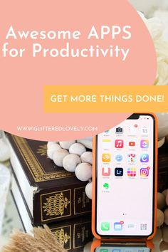 I love a good app that can keep me productive in getting things done. These are the best apps for productivity that will help! #productiveapps