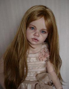 Realistic lifesize ooak 7 child doll girl Angelica Reva Schick ~ Paris~ by Anya | eBay