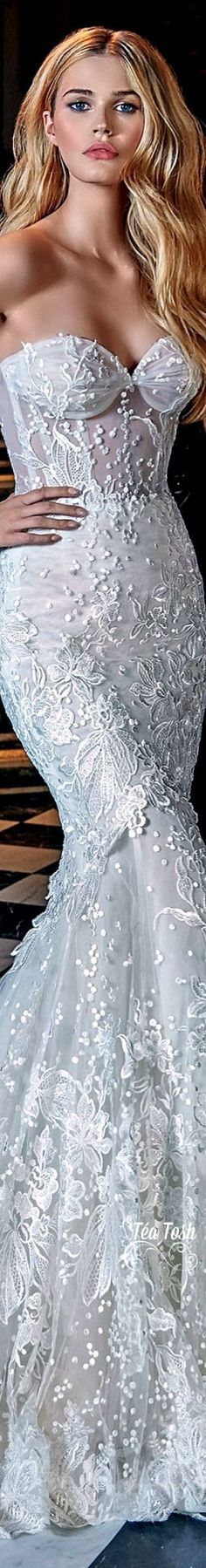 Beautiful, she looks like a look alike Claudia Shiffert♡❇Téa Tosh❇Galia Lahav, Le Secret Royal, Spring 2017, Haute Couture, Bridal