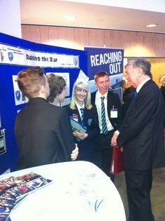 Meeting more entrepreneurs of the future at the Premier League's Enterprise Challenge final.
