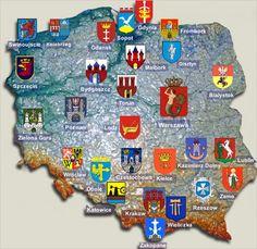 Polish city emblems