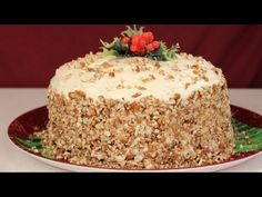 Video About How To Make A Delicious Italian Cream Cake (From Last Xmas)