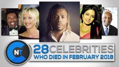 Tagged with celebrity, sad, rip, february, Shared by CelebrityNewsToday. List of Celebrities Who Died In FEBRUARY 2018 Celebrity Deaths, Celebrity List, Latest Celebrity News, Celebrities Who Died, Picture Company, Film Industry, Daily News, News Today, Viral Videos