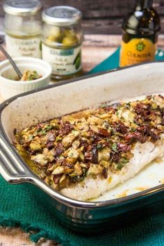 Stun your guests with beautiful baked sea bass and a sweet chocolate panforte.  #ItalianHolidaysStyle