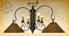Just ordered a sample of this chandelier for our retail showroom.  This light is perfect for over a kitchen island.