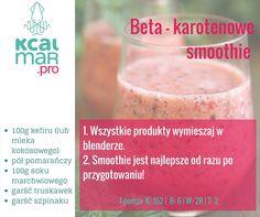 Beta-karotenowe smoothie
