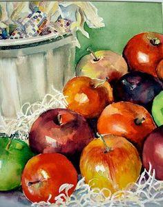 sharon bangerter watercolors & acrylics: Still Life