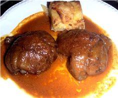 Carrilleras de ibérico en salsa