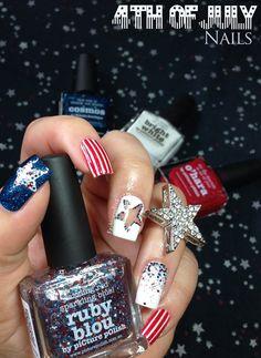 Fashion Polish: Happy 4th of July!!!
