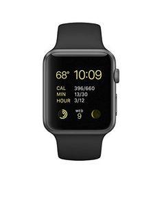 Apple Watch Sport 42mm Case - Space Gray Aluminum