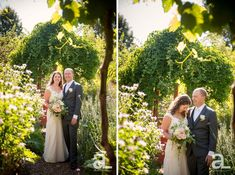 Portland Wedding Photography – Rebecca + Karl – Gresham United Methodist Church and McMenamin's Edgefield Administrator's House and Yard | Alyson Levy Photography