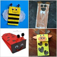paper bag animal craft ideas for kids fun (31) « funnycrafts