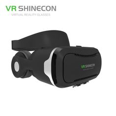 f67eb87f68ae VR SHINECON 3D Virtual Reality Glasses Headset With Headphones Pro VR  Glasses Cardboard Helmet BOX For 4.7-6 inch Smart Phone