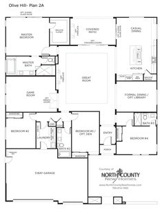 New Homes In Bonsall For Sale New Construction Homes At Olive Hill Floor Plan
