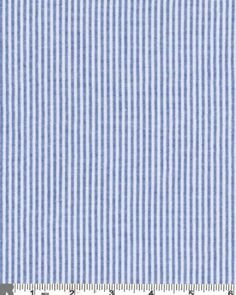 """Amazon.com: 58"""" Wide Classic Cotton Seersucker Stripe Fabric By the Yard, Royal Navy 798: Arts, Crafts & Sewing $5.95/yard #livingroom #curtains"""