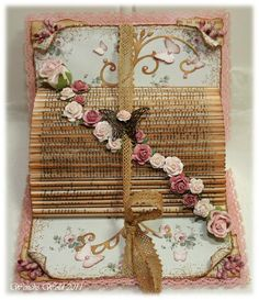 Decorated Folded Altered book