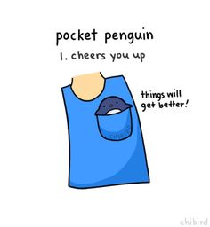 Pocket Penguin. For all you Funsubs having a bad day (: