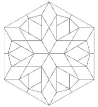 1000 images about quilting english paper piecing on for Free english paper piecing hexagon templates