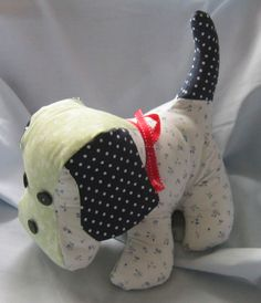 New adventures - meet Scoobie - and to follow his sister Minnie - not such a good pic but loved making them both.