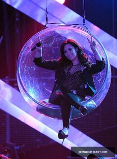 In a bubble! :O