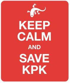 #SaveKPK