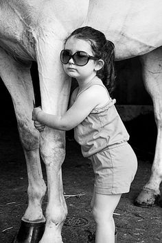 Little girl and horse #SaveAmericasMustangs