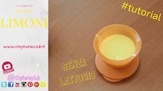 #Tutorial - Come preparare la crema di limoni   senza lattosio   BIMBY T...