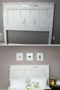 Diy Build This Farmhouse Style Headboard For Around 100 It Will Be The Center