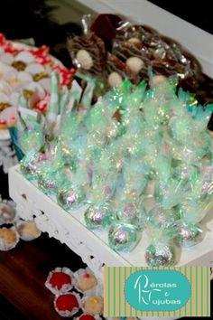 Pérolas e Jujubas: Festa Personalizada Ariel, a pequena Sereia!!!
