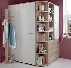 armoire d 39 angle corner 2 portes dressing pas cher angles et armoires. Black Bedroom Furniture Sets. Home Design Ideas