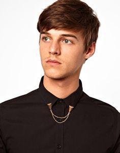 River Island - Triangle Chain Collar Tips