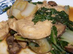 Chicken Bok Choy Stir Fry   Low Carb Yum