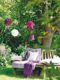 blühende deko: gartenparty olé - unwetter ade! | deko und garten, Garten Ideen