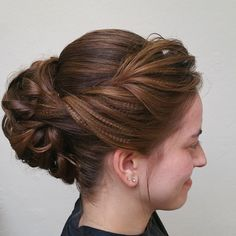 Let's get pretty for prom! Pin up a cascade of curls and add a touch of texture for a look that is sure to turn heads on Michigan Ave! #byMario  Photo Credit: @DavidGStylistMT at #MarioTricociArlingtonHeights