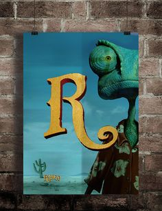 a2z movie posters in alphabetical order on Behance